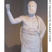 Statue of Zeus Ammon from Pergamon at My Favourite Planet