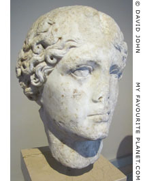 Marble head of Agrippina the Elder from Ortahisa - Trapezus (Trabzon)