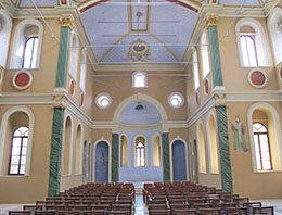 The inside of the newly-restored Ayavukla Church, Basmane, Izmir at My Favourite Planet