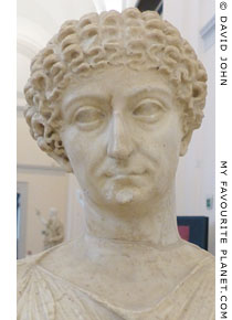 Head of the so-called Agrippina Maggiore statue at My Favourite Planet