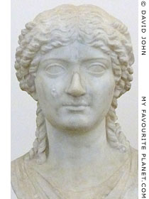Bust of Agrippina at My Favourite Planet