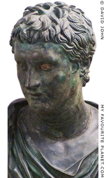 Bronze portrait of Eumenes II of Pergamon at My Favourite Planet