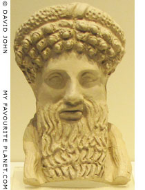 Head of Hermes from Pella, Macedonia, Greece at My Favourite Planet