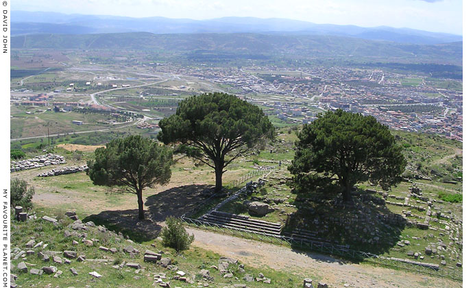 The site of the Great Altar of Zeus on the Pergamon Acropolis, Turkey at My Favourite Planet
