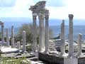 The Temple of Trajan on the Pergamon Acropolis, Turkey at My Favourite Planet