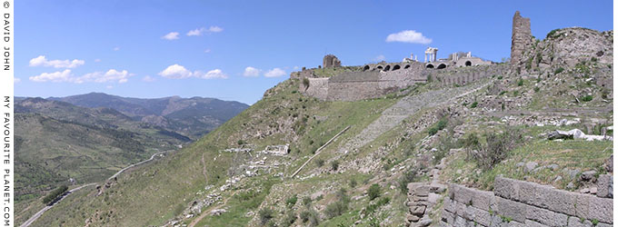 Panoramic view from the Pergamon Acropolis, Turkey at My Favourite Planet
