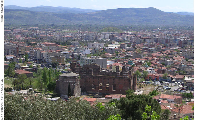 The north side of the Red Basilica (Kizil Avlu) from the Pergamon Acropolis, Bergama, Turkey at My Favourite Planet