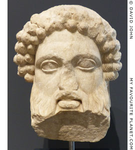 Head of a herm of Hermes Propylaios of the Ephesus type, National Museum of Rome at My Favourite Planet