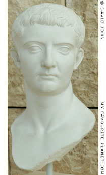 Portrait of Emperor Tiberius in the Ny Carlsberg Glyptotek, Copenhagen at My Favourite Planet