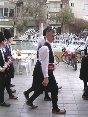 Serbian folk dancers visit Selcuk, Turkey at My Favourite Planet