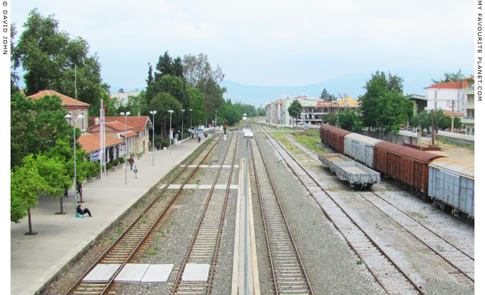 Selcuk railway station, Turkey at My Favourite Planet
