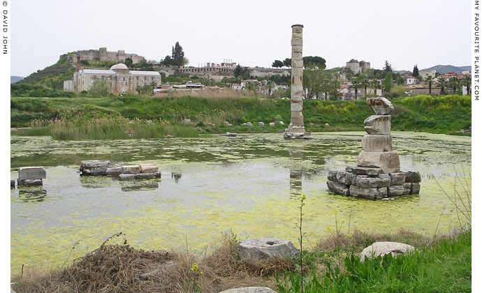 The Temple of Artemis in April 2004