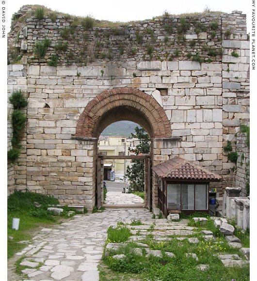 The inside of the Gate of Persecution of the Basilica of Saint John, Selcuk, Turkey at My Favourite Planet