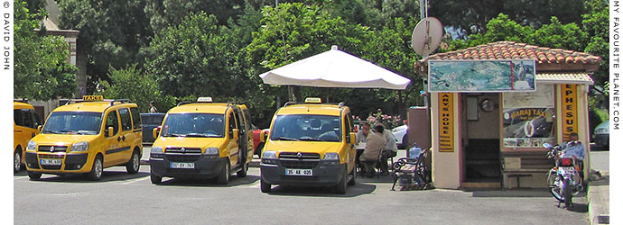Taxi rank (Taxi Garaj) at Selçuk bus station at My Favourite Planet