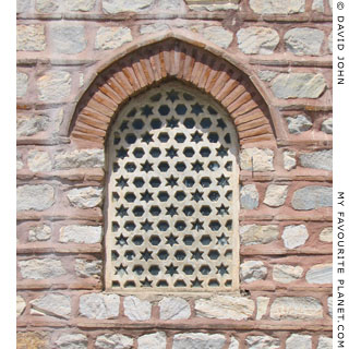 A window of the Saadet Hatun Public Bath Museum, Selcuk, Turkey at My Favourite Planet