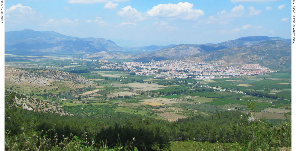 Panoramic view of Selçuk, Turkey at My Favourite Planet