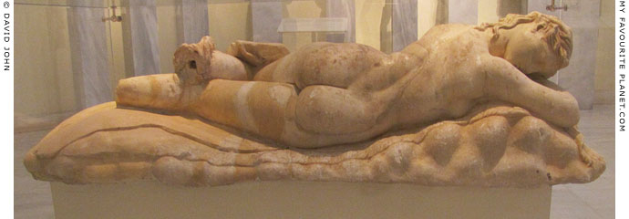 Sleeping maenad or sleeping Hermaphroditus at My Favourite Planet