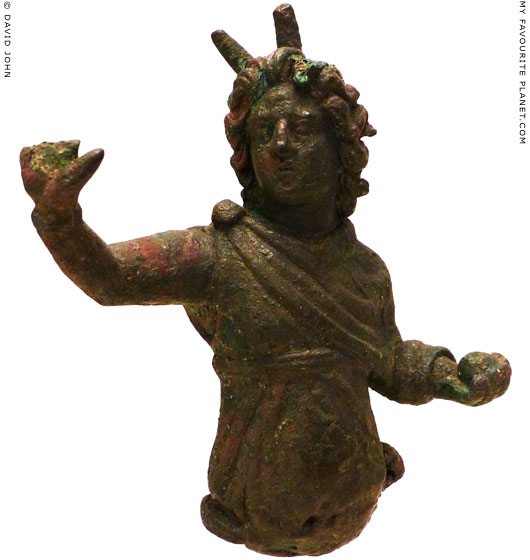 Statuette of Alexander the Great as Cosmocrator Helios at My Favourite Planet