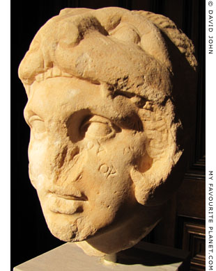 Head of Alexander the Great wearing a lion-skin, National Archaeological Museum, Athens, Greece at My Favourite Planet