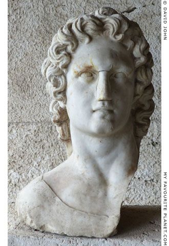 Bust of Helios in the Agora, Athens at My Favourite Planet