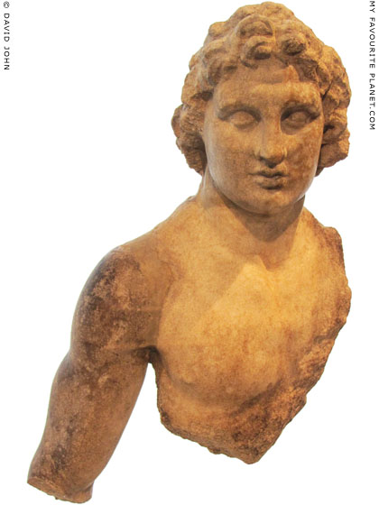 A marble statuette of Alexander the Great from Priene at My Favourite Planet