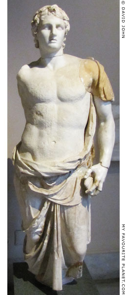 An over life-size marble statue of Alexander the Great from Magnesia ad Sipylum at My Favourite Planet