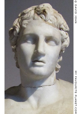 Head of the statue of Alexander the Great, Istanbul Archaeological Museum at My Favourite Planet