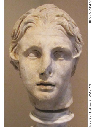 Head of Alexander the Great from Pergamon at My Favourite Planet