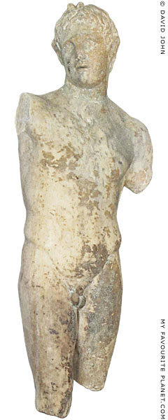 Statuette of Alexander the Great as the Greek god Pan, Pella Archaeological Museum, Macedonia, Greece at My Favourite Planet