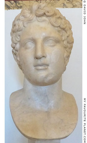 Male head after a Greek original of the 4th century BC at My Favourite Planet