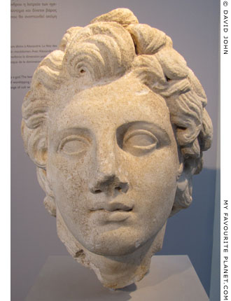Head of Alexander from Thasos at My Favourite Planet