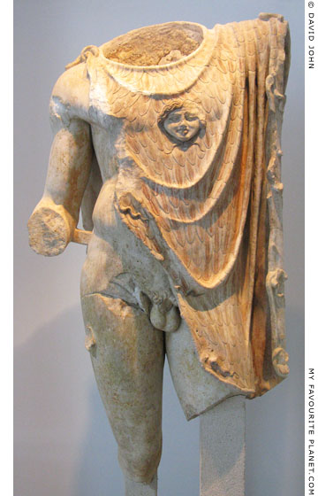The Gorgoneion and aeigis on a Roman statue, Thessaloniki Archaeological Museum at My Favourite Planet