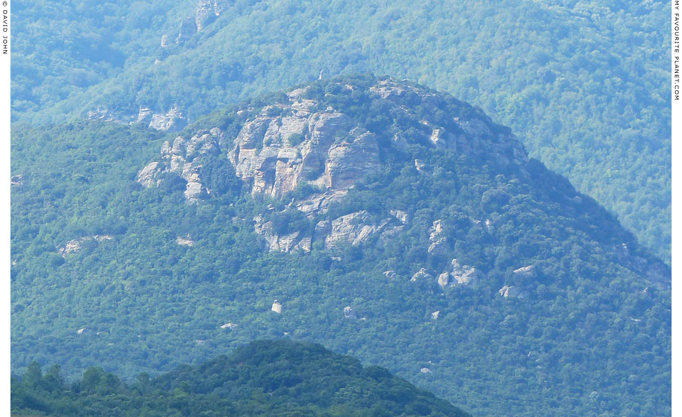 The face of Alexander the Great on Mount Kerdylion, Macedonia, Greece at My Favourite Planet