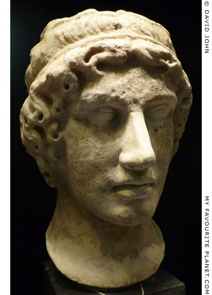 Head of a young man, possibly Eros at My Favourite Planet