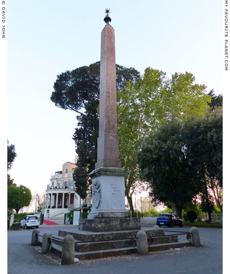 The Obelisk of Antinous on the Pincian Hill, Rome at My Favourite Planet