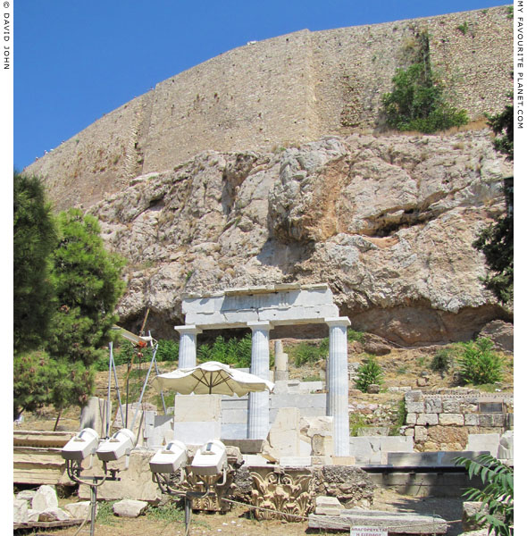 The Doric stoa of the sanctuary of Asklepios and Hygieia, Athens at My Favourite Planet