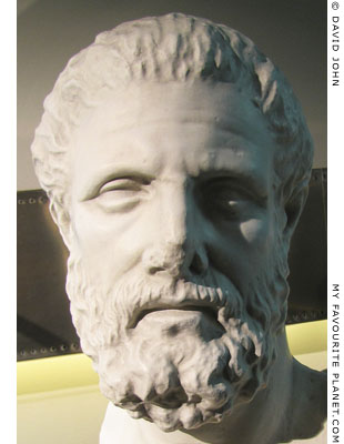 Head of Hippocrates from Kos, Greece at My Favourite Planet