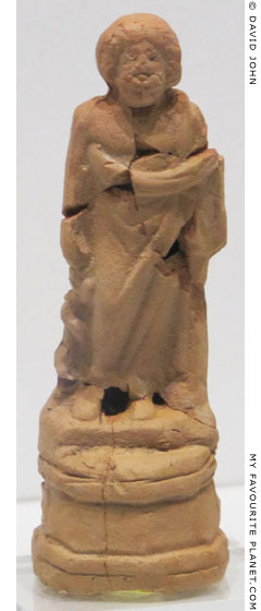 Terracotta figurine of Asklepios from the Pergamon Asclepieion at My Favourite Planet