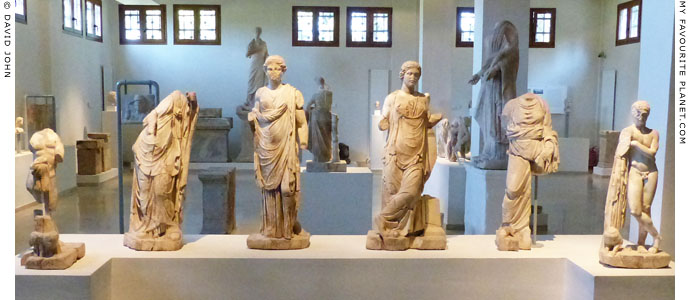 Marble statue group of the children of Asklepios, Dion, Macedonia at My Favourite Planet