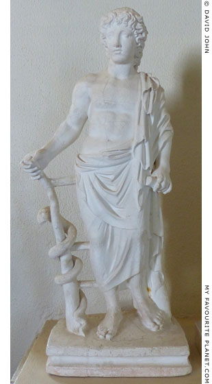 Statuette of young Asklepios from Epidauros at My Favourite Planet