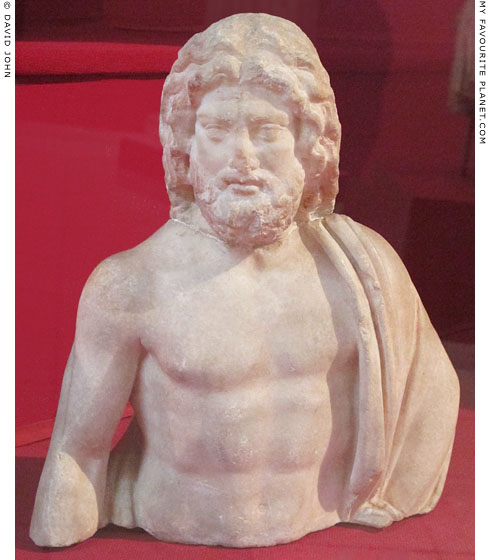 Marble statuette of Asklepios from Ephesus at My Favourite Planet