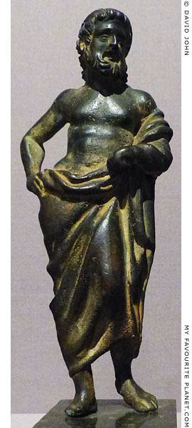 Bronze figurine of Asklepios, British Museum at My Favourite Planet