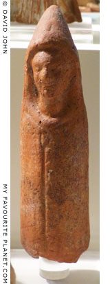 Terracotta figurine of Telesphoros from Hermione, Peloponnese, Greece at My Favourite Planet