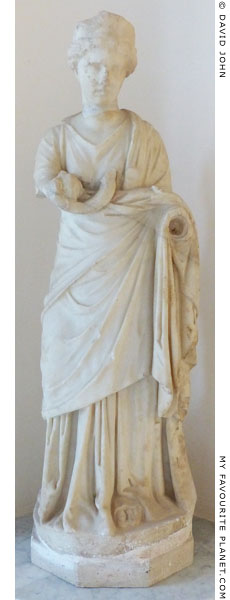 Marble statue of Hygieia, Ostia at My Favourite Planet