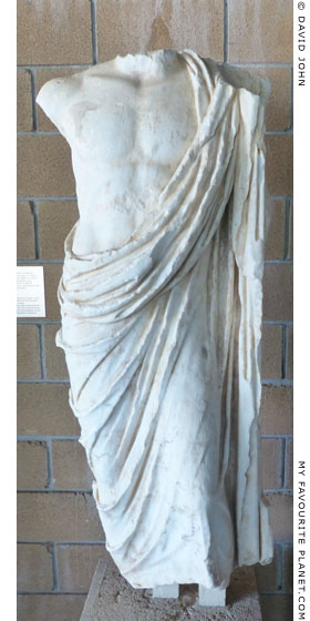 Marble statue of Asklepios from Thespiai, Boeotia at My Favourite Planet