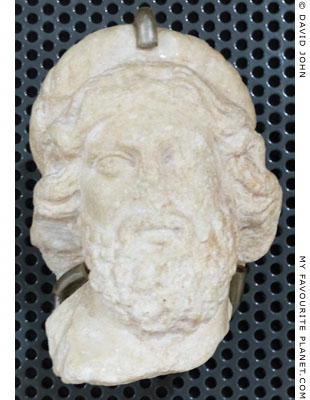 Head of Asklepios from the Thessaloniki Agora at My Favourite Planet