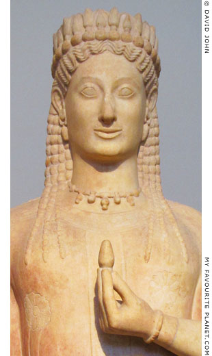 The Phrasikleia kore statue by Aristion of Paros at My Favourite Planet