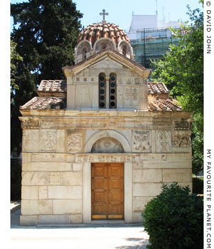 The Little Metropolis church, Athens at My Favourite Planet
