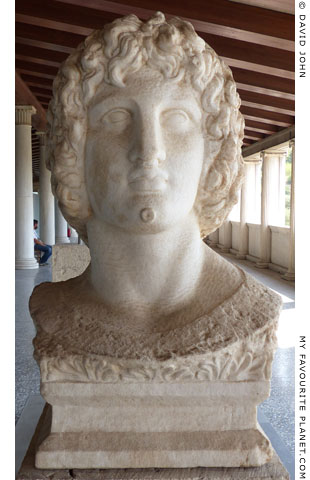 Bust of Alexander or Eubouleus, Agora Museum, Athens at My Favourite Planet