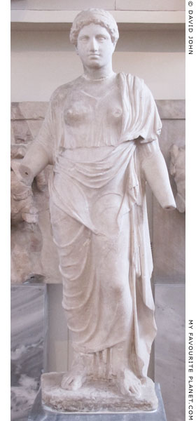 Marble statue of Persephone at My Favourite Planet
